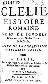 Clelie, histoire romaine: Volume1;Volume5