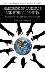 Handbook of Language   Ethnic Identity PDF