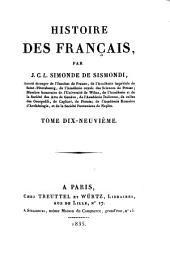 Histoire des Français: Volume19
