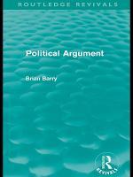 Political Argument  Routledge Revivals  PDF