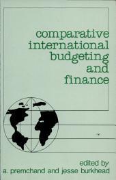 Comparative International Budgeting and Finance