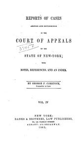 Reports of Cases Decided in the Court of Appeals of the State of New York: Volume 4
