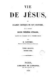Vie de Jesus: Volume2