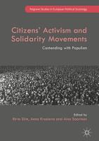 Citizens  Activism and Solidarity Movements PDF