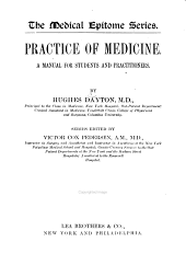Practice of Medicine: A Manual for Students and Practitioners