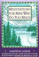 Meditations for Men Who Do Too Much PDF