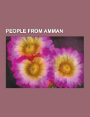 People from Amman