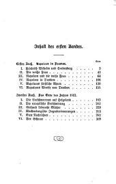 Napoleon in Deutschland: Napoleon und Blücher ; 1, Band 3,Ausgabe 1