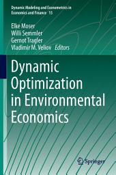Dynamic Optimization in Environmental Economics