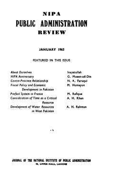 NIPA Public Administration Review PDF