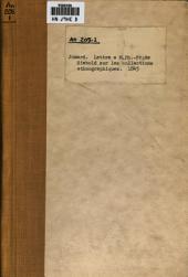 Lettre à Monsieur Ph.-Fr. de Siebold, sur les collections ethnographiques