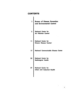 Health Protection  the Target of the Bureau of Disease Prevention and Environmental Control PDF