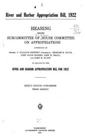 River and Harbor Appropriation Bill, 1922