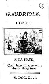 Gaudriole, conte