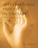 Interpersonal Process in Therapy  An Integrative Model PDF