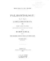 Palæontology of New-York: pt. 1. Lamellibranchiata. [no.] I. Containing descriptions and figures of the Monomyaria of the Upper Helderberg, Hamilton and Chemung groups (1884)