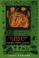 The Medieval Theater of Cruelty PDF