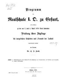Programm der Realschule I  O  zu Erfurt0 PDF