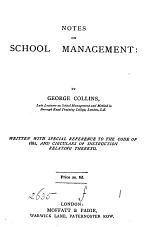 Notes on school management