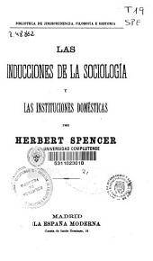 Las inducciones de la sociología y las instituciones domésticas