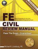 FE Civil Review Manual PDF