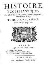 Histoire ecclésiastique: Volume19