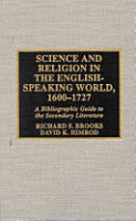Science and Religion in the English speaking World  1600 1727 PDF