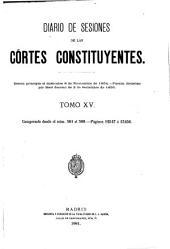 Diario de las sesiones ... 1838 (-1921/2).: Volume 15