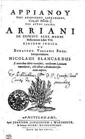 Arrianú Peri anabaseós Alexandrú, Historión Biblia 7. Tú autú Indika