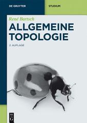 Allgemeine Topologie: Ausgabe 2