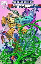 Transformers vs G.I. Joe #0: Free Comic Book Day Special