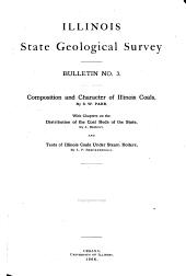 Bulletin of the Illinois State Geological Survey: Issue 3