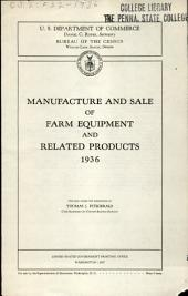 Manufacture and Sale of Farm Equipment: Volume 3
