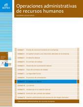 El salario y su abono (Operaciones administrativas de recursos humanos)