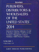 Publishers  Distributors   Wholesalers in the Us  2014
