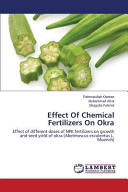 Effect Of Chemical Fertilizers On Okra