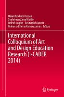International Colloquium of Art and Design Education Research  i CADER 2014  PDF