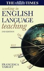 Working in English Language Teaching
