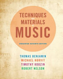 Techniques And Materials Of Music From The Common Practice Period Through The Twentieth Century Enhanced Edition Book PDF