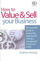 How to Value   Sell Your Business PDF