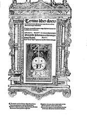 Liber super sententias: Tertius liber doctoris Subtilis fratris Joannis Duns Scoti ordinis Minorum super sententias, Volume 3