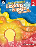 Brain Powered Lessons to Engage All Learners Level 2 PDF