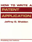 How to Write a Patent Application