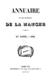 Annuaire du Département de la Manche: Volumes64à66