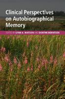 Clinical Perspectives on Autobiographical Memory PDF