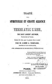 Traité de la spirituelle et chaste alliance du Verbe avec l'âme