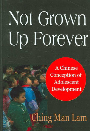 Not Grown Up Forever PDF