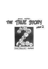 The True Story - Lesson #2
