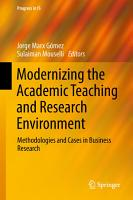 Modernizing the Academic Teaching and Research Environment PDF