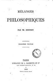 Melanges philosophiques par Th. Jouffroy